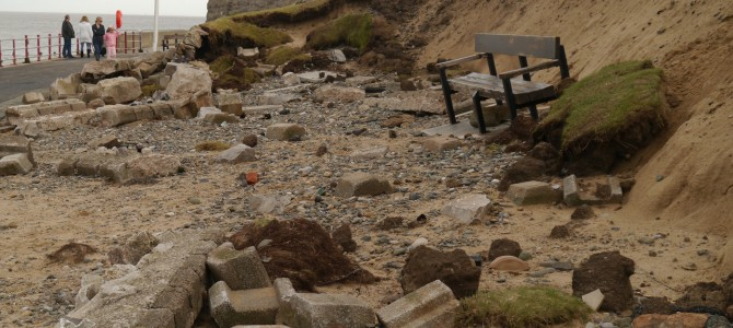 December storms and Rhyl's battered defences